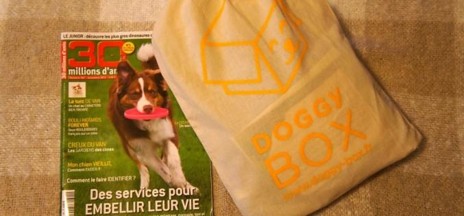 La Doggy Box de novembre