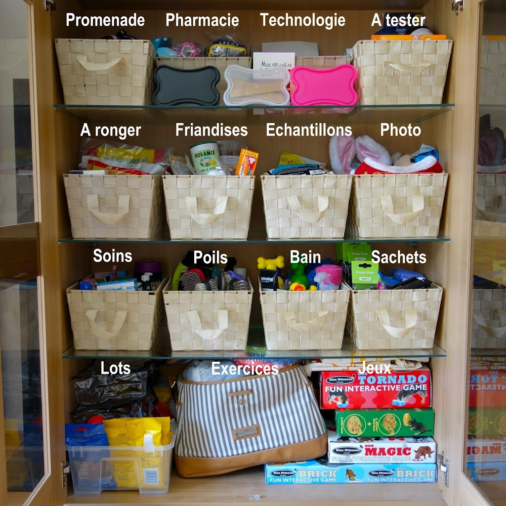 L armoire de rangement des affaires pour chiens baikasblog - Comment ranger ses recettes de cuisine ...