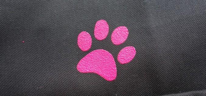 [tutoriel] Pochoir pattes de chien