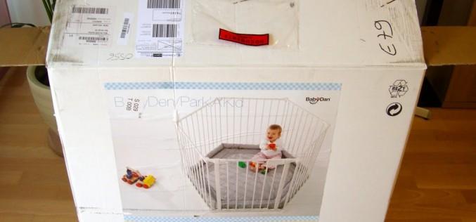 Installation de la barrière Baby Dan