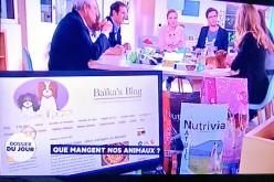 La Quotidienne parle de nourriture pour animaux – France5